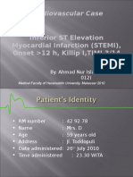 Inferior ST Elevation Myocardial Infarction (STEMI)