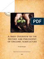 A Brief Overview of the History of Organic Farming