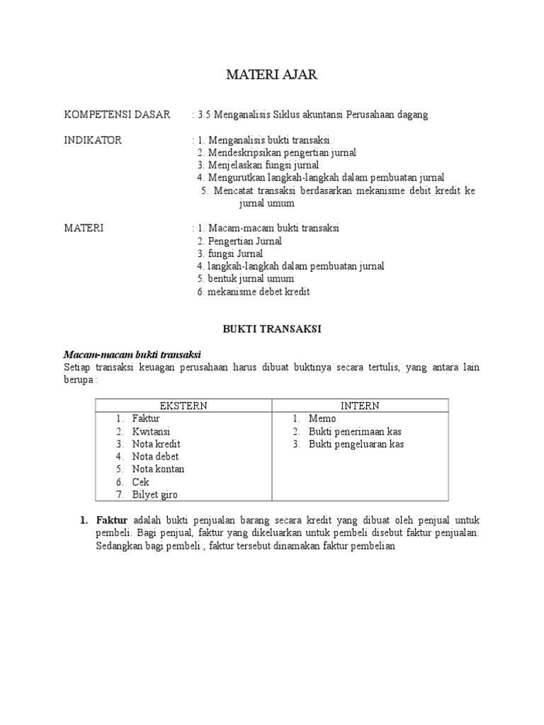 Materi Ajar Perusahaan Jasa Doc