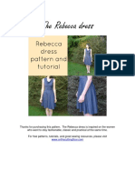 The Rebecca Dress Tutorial