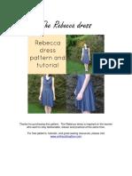 The Rebecca Dress Tutorial