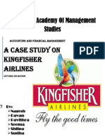 A Case Study On Kingfisher Airlines