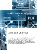 Wireless Battery Charging Presentation