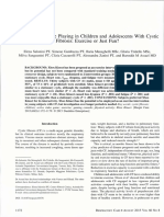 Active Video Game Playing in Children and Adolescents With Cystic Fibrosis