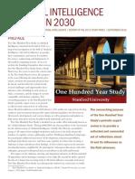 AI 2030 report