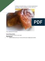La Torta o Tarta de Plátano Maduro Es Un Postre Delicioso Melida
