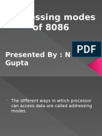 Addressing Modes by Nitin Gupta
