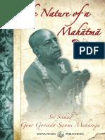 The Nature of a Mahatma