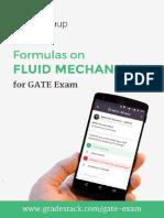 Fluid Mechanics Formulas Shortcuts