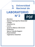 LABORATORIO #2 (tabla periodica)