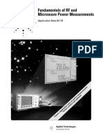 Fundamentals of RF & Microwave Power Measurements