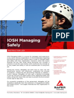 PDF IOSH Managing Safely