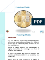 Parboiling Paddy