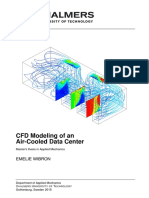 CFD modeling of air cooled data center