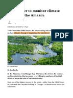 Amazonia Network Tower Monitor