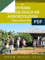vitrine tecnológica de agroecologia