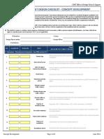 GDOT Roundabout Checklist Concept