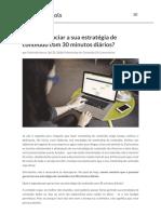 Como gerenciar sua estratégia de conteúdo com 30 minutos diários.pdf