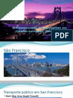 Sistema de Transporte Publico da cidade de São Franscisco