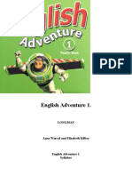 English Adventure 1 Syllabus