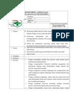 SPO Pelaksanaan Monitoring, Jadwal Dan Pelaksanaan Monitoring)