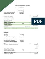 Trabajo Evaluación de Proyectos Eje 6 y 7