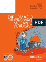 117566048 Diplomado Internacional en Mecanica de Rocas