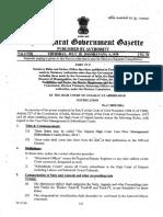 Gujarat High Court Case Flow Management (Subordinate Courts) Rules, 2016