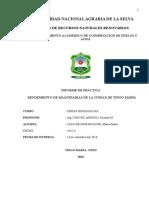 Cumplimiento de La Norma g50 en Obras de Mejoramiento de Canales de Drenaje y Pavimentacion de Las Calles de La Ciudad de Tingo Maria