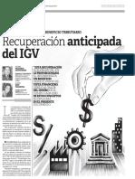 Juridica Recuperacion Anticipada Del IGV PNS 20.05.14