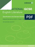 UG027049 International GCSE in English Literature 4ET0 Spec Issue 2 for Web