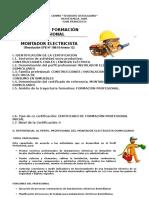 Proyecto Montador Electricista