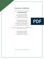 Canciones Folklóricas