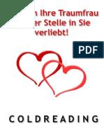 Verliebt machen mit Coldreading - Wie sich Ihre Traumfrau auf der Stelle in Sie verliebt!