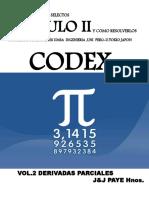 Codex  Derivadas PARCIALES