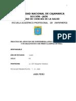 PAE - Preclamsia Severa