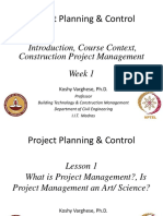Week1_Lesson1_What is Project Management, Is Project Management an Art or Science