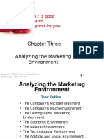 Chapter 3 Analyzing the Marketing Environment