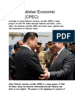 Cpec Assignment