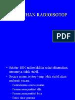 Peluruhan Radioisotop ( Pert 3 )