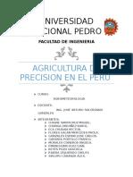 Agricultura de Precision en El Peru