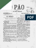 Jornal da Padaria Espiritual Nº1