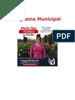 Programa Municipal Maria Olga Morales
