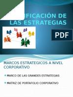 clasificación de las estrategias