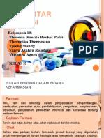 Pengantar Farmasi Kelompok 10