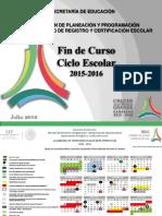 Presentación de Fin de Curso 2015-2016