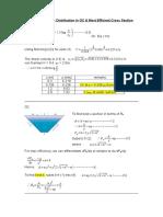 CV2015 - Tut 4 Soln - Vel Dist in OC & Most Efficient X-Section
