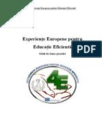 Experiențe Europene Pentru Educație Eficientă