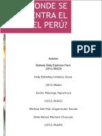 Identidad Cultural en l Peru
