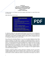 1.Computer Aided Design